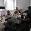 Proben mit Christoph Fälbl und Roman Frankl